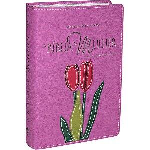 A Bíblia da Mulher - 3 Capas - Lilas