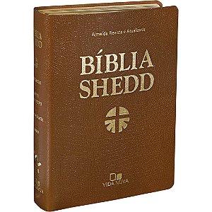 BÍBLIA SHEDD - MARROM