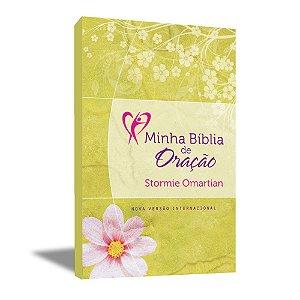 Minha Bíblia de Oração  - Capa Florida