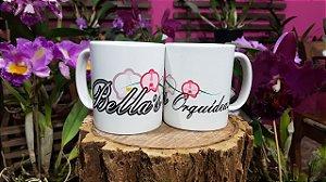 Caneca Bella's Orquídeas