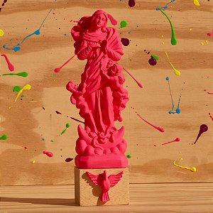 Nossa Senhora Desatadora dos Nos - Rosa Neon