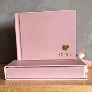Álbum M miolo branco + Caixa box