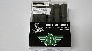 Magazine para Airsoft M4 140BB pacote com 5un PRETO