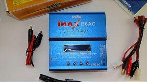 Carregador e Balanceador de Bateria IMAX-B6AC 12v, bivolt