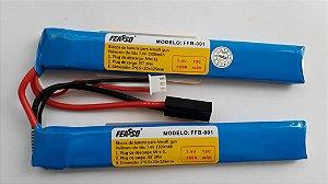 Bateria Airsoft Lipo 7.4V 1500MAH