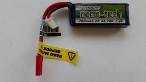 Bateria Lipo 7.4V 2S para AEP CYMA