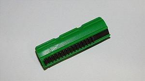 Pistão em polímero com Dentes de Metal (15 dentes - 1º dente rebaixado)