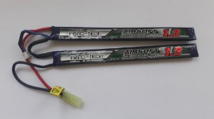 Bateria LiPO 1300mah 2S 7,4v 25-50C