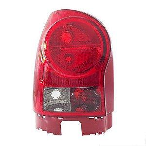 Lanterna Traseira Gol IV Fumê Carcaça Vermelha Neblina (2006/2009) - Original ARTEB