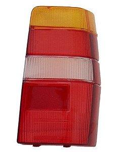 Lente Lanterna Traseira Fiorino Tricolor Modelo M. Carto (1986/1997) - RN