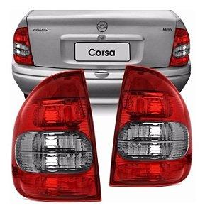 Lanterna Traseira Corsa Sedan Fumê (2000/2010) - COFRAN