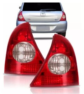 Lanterna Traseira Clio Hatch Bicolor (2003/2010) - FITAM