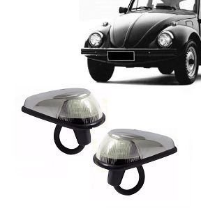 Lanterna Dianteira Fusca Capa Cromada Cristal (1970/1997) - AMG