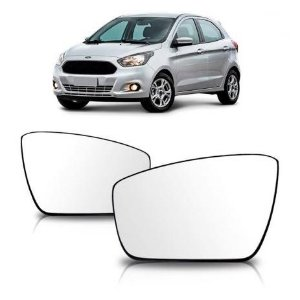 Lente Retrovisor Ford Ka Com Base (2014 a Diante) - METAGAL