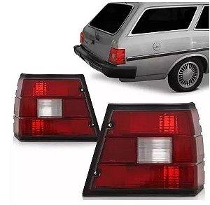 Lanterna Traseira Caravan Bicolor (1980/1992) - HT