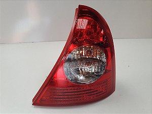Lanterna Traseira Clio Hatch (2003/2011) Bicolor - ORIGINAL