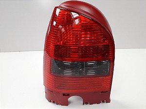 Lanterna Traseira Gol GIII (2000/2004) Ré Fumê/Carcaça Vermelha - ORIGINAL