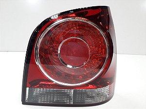 Lanterna Traseira Polo Hatch (2008/2012) Vermelha - ORIGINAL