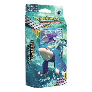 Deck Pokémon Sol E Lua Eclipse Cósmico Kyogre Copag