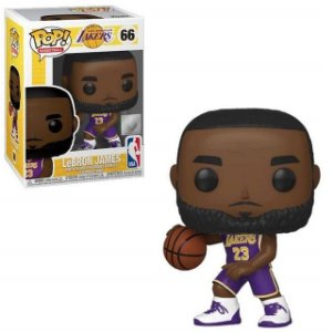 Funko Pop Lebron James NBA Los Angeles Lakers #66