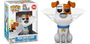 Funko Pop Max With Cone The Secret Life Of Pets 2 #764