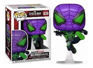 Funko Pop Marvel Spider-Man Miles Morales (Purple Reign) #839