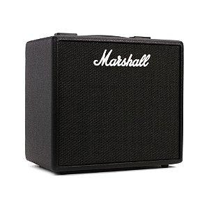 Amplificador Marshall CODE 25 Combo p/ Guitarra 25W c/ Simulador