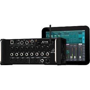 Mesa de Som digital Behringer X-Air XR16 p/ iPad/Android c/ 16 entradas e Gravação USB