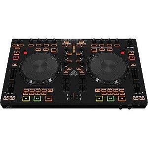 Controlador DJ Behringer CMD STUDIO 4A c/ 4 decks
