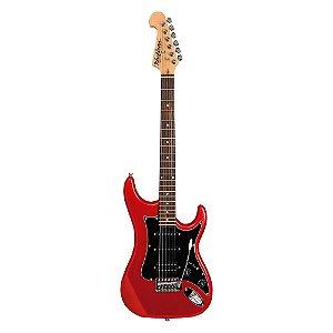 Guitarra Washburn S2HMRD vermelha em Alder com captacao H/S/S e headstock invertido
