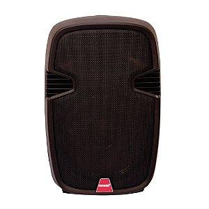 Caixa de Som Ativa Lexsen LXP-10A 60W RMS Com Microfone S/ Fio