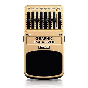 Pedal Equalizador para Guitarra Behringer EQ700 Graphic Equalizer