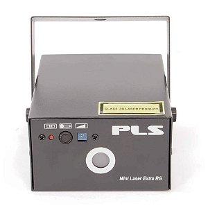 Laser PLS Mini Laser Extra RG Vermelho e Verde