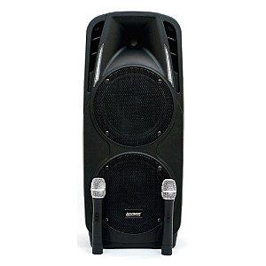 Caixa de Som Ativa Lexsen LS210AB MP3 2 vias