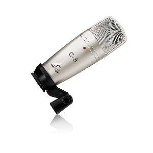 Microfone Condensador para Estúdio Behringer C-3