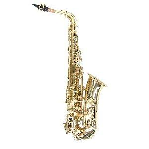 Saxofone Alto Benson BSA1-L laqueado em Mi Bemol