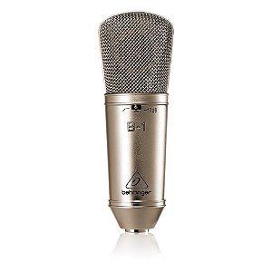 Microfone Condensador de Estúdio Behringer B-1
