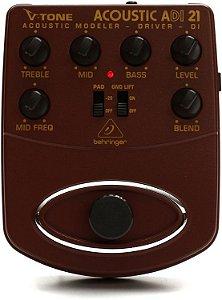Pedal modelador para violão Behringer ADI21 V-Tone Acoustic Driver DI