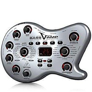 Pedaleira para Contrabaixo Bass V-AMP LX1B Behringer