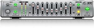 Equalizador MINIFBQ FBQ800 Behringer com detector de microfonia
