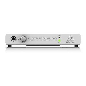Interface de Áudio Behringer Firewire FCA202