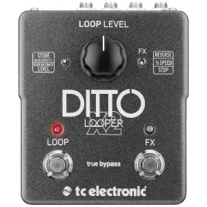Pedal para Guitarra TC Electronic Ditto X2 Looper