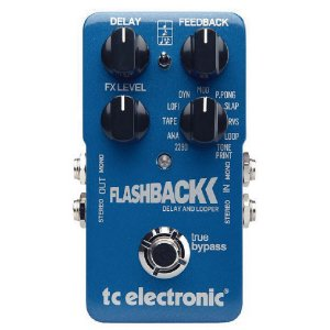 Pedal para Guitarra TC Electronic Flashback Delay e Looper
