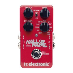 Pedal Reverb para Guitarra TC Electronic Hall of Fame