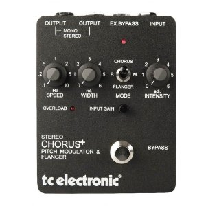 Pedal para Guitarra TC Electronic SCF Stereo Chorus Flanger