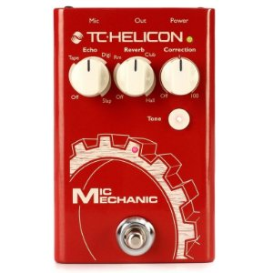 Pedal Para Voz TC Helicon Mic Mechanic