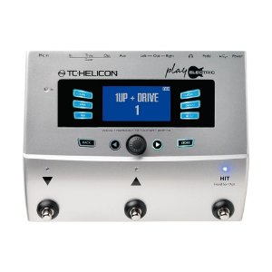 Pedaleira para Voz e Guitarra Play Electric TC Helicon