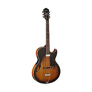 Guitarra semi acústica Washburn HB15CTS Cutway Tobacco Sunburst com Bag