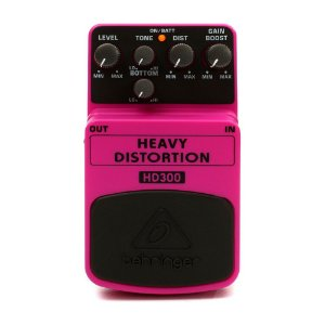 Pedal para guitarra Behringer HD300 Heavy Distortion