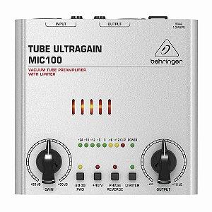 Pré-ampificador para Microfone MIC100 Behringer
